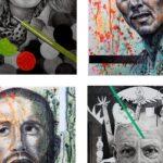 Exposición «Retratos» de JOSÉ GARCÍA POVEDA en Pepe Donoso de Elche